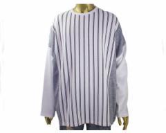 リングス オーバーサイズ ビッグシルエット ゆったり着こなしてください ストライプ切換えBIG TEE Tシャツ メンズ RINGS 【119020 90スト