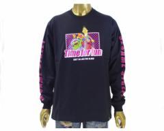 ビーワンソウル SESAME STREET セサミストリート キャラ(オスカー バード&アーニー エルモ) Tシャツ L/S メンズ B ONE SOUL 【9370905 01