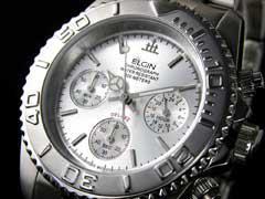 【ELGINエルジン】クロノグラフ腕時計FK1120S