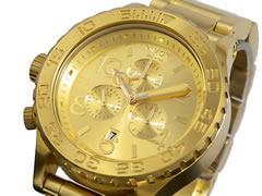 ニクソン NIXON 腕時計 42-20 CHRONO A037-502 ALL GOLD【送料無料】