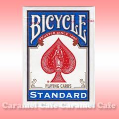 【メール便送料無料】BICYCLE(バイスクルトランプ) 808 ライダーバックSTANDARD トランプ青ポーカーサイズ02P13Nov14