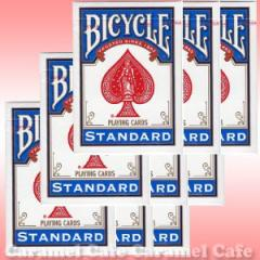 【メール便送料無料】BICYCLE(バイスクル) 808 ライダーバック STANDARD トランプ ポーカーサイズ 青 12デック1ダースシュリンクパック