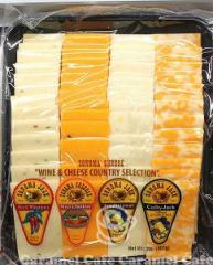 クール便コストコCOSTCO ソノマチーズファクトリースライスチーズパーティトレー907g【RCP】