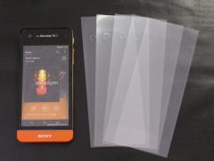 液晶保護シート 超光沢タイプお買得5枚入(簡易パッケージ)【docomo SO-05D (Xperia SX) 対応】 (携帯液晶保護シール/液晶保護フィ