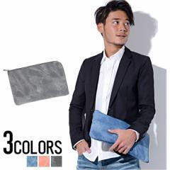 Diavlo【ディアブロ】ブリーチ加工 クラッチバッグ /全3色 trend_d メンズ ビター系