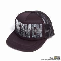 [SALE]Diavlo【ディアブロ】フロントHEAVENメッシュキャップ/全2色(クリア/カーキ) trend_d メンズ ビター系