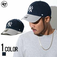 47Brand【フォーティーセブン】Yankees 47 CLEAN UP Navy×Gray /全1色 trend_d メンズ ビター系