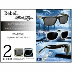 【お取り寄せ商品】【送料無料】RebeL×BlackFlys SWAROVSKI Top RebeL FLYAMI VICE-1/全2色【ご注文から7日〜10日前後】