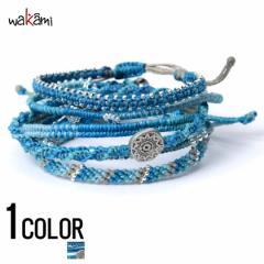 wakami【ワカミ】アース 7 ストランド ブレスレット Turquoise /全1色 trend_d メンズ ビター系
