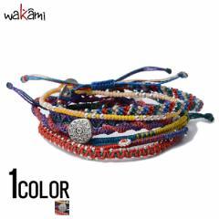 wakami【ワカミ】アース 7 ストランド ブレスレット Multicolor /全1色 trend_d メンズ ビター系