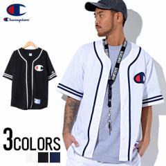 Champion【チャンピオン】アクション スタイル チャンピオン ベースボールシャツ /全3色 trend_d メンズ ビター系 [POUP]