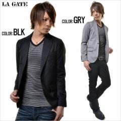 [SALE]LA GATE テーラード ジャケット /全2色【*】(ブラック/グレー) メンズ