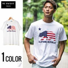 No sweat【ノースウェット】CALIFORNIA REPUBLIC Tシャツ /全1色 trend_d メンズ ビター系