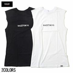 [SALE]RAZZIS【ラズ】ロゴ プリント ノースリーブ /全2色 trend_d メンズ ビター系