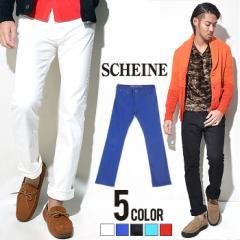 SALE SCHEINE【シャイナ】スリムストレッチカラーパンツ/全5色 trend_d メンズ ビター系