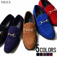 VICCI【ビッチ】ゴールド ビット付き ローファー /全5色 trend_d メンズ ビター系