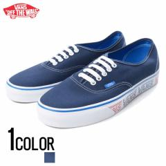 VANS【バンズ】Authentic (Vans Checker Tape) Dress Blues /Blue /全1色 trend_d メンズ ビター系