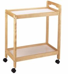 【送料無料】木製キッチンワゴン 2段 KW-02 #02