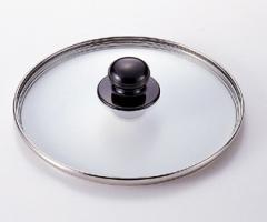 ワンダーシェフ圧力鍋 5.5L専用ガラス蓋22cm 蒸気抜け穴付き#10