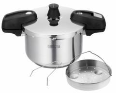 ワンダーシェフ IH対応 ネオロタ両手圧力鍋4.0L(炊飯専用おもり付き)#10