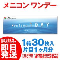 メニコンワンデー 1箱 [30枚] menicon 1day 1日使い捨て コンタクトレンズ コンタクト ワンデー