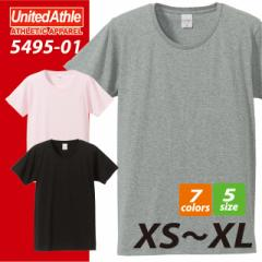 【送料無料】4.7オンスファインジャージー半袖Tシャツ#5495-01 ユナイテッド アスレ UNITED ATHLE 千均 sst-c