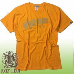 5.0オンス ロゴプリント半袖Tシャツ GLEAM ink ラッキーグリーム LUCKY GLEAM #EN141gy sst-c