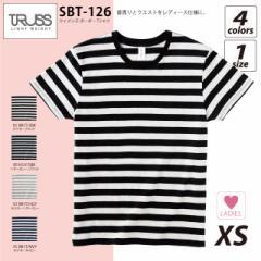 ウィメンズ ボーダーTシャツ TRUSS#SBT-126 sst-c lady