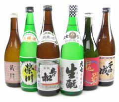 NEW 福島の地酒入門飲み比べ6本セット 720ml×6【送料無料】