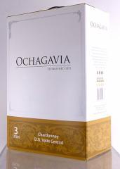 オチャガビア ボックスワイン 3000ml シャルドネ【赤・白合わせても8個で送料無料!】バッグ・イン・ボックス チリ白ワイン