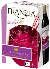 やや甘口赤ワイン ボックス 8個セット フランジア スイーティーレッド ワインタップ ボックスワイン 3000ml 3リットル 3l 送料無料