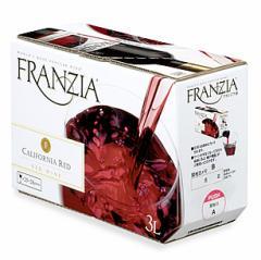 赤ワイン ボックス 8個セット フランジア ワインタップ ボックスワイン(赤)3000ml 3リットル 3l 送料無料