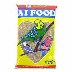 アイフード からつき 800g/エサ からつき 皮つき 小鳥の主食 セキセイインコ 餌 オカメインコ 文鳥 バードフード アイフード
