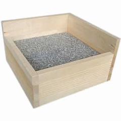 ストーンベッドスーパーM/天然石 ひんやり クール 夏 涼感 冷える 涼しい 木製 保冷材 ハウス 小動物 プレーリー チンチラ デグー