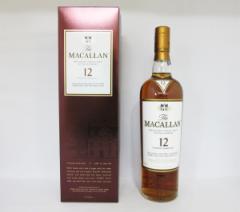 マッカラン 12年 シェリーオーク 40度 700ml (専用ギフトパック入) 【正規品】 シングルモルト スコッチ ウイスキー