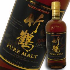 アサヒ  ニッカ ウイスキー 竹鶴 NV ピュアモルト 700ml 瓶 (箱なし)