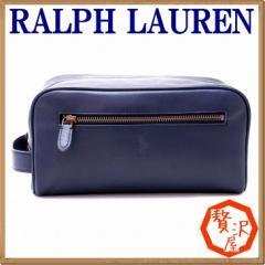 ポロ ラルフローレン バッグ POLO RALPH LAUREN メンズ セカンドバッグ クラッチバッグ セカンドポーチ レザー製 RL-4056-2178-3005【tem