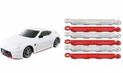 ドリフトパッケージナノ 超絶ドリテクコースセット 縦列駐車篇 日産フェアレディZ NISMO ホワイト