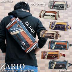 ★送料無料★ 【ランキング受賞】 メンズ 鞄 ボディバッグ バッグ ボディーバッグ 斜め掛け フロントライン ZARIO ザリオ  【ZA-1001】