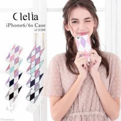 【メール便送料無料】 日本製 iPhone6 iPhone6s アイフォンケース スマホケース 可愛い Clelia クレリア【CL-5100】【mlb】