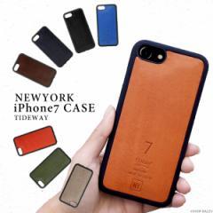 スマホケース メンズ レディース 本革 iphone7ケース カバー TIDEWAYタイドウェイ (8色)【T2112】