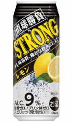 【48本で送料無料】合同酒精 オエノン 直球勝負 ストロングレモン 500ml缶 バラ