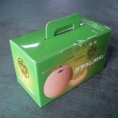 静岡 クラウンメロン マスクメロン 専用化粧箱 2玉用 箱のみ