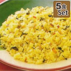 ピリッとした辛さが食欲をそそる「高菜ピラフ」250g×5食