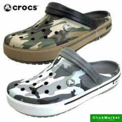 [送料無料]クロックス crocs crocband 2.5 camo clog 201833 クロックバンド カモ クロッグ サンダル 001 040 メンズ/レディース
