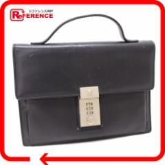 あす着 VERSACE ヴェルサーチ メデューサ ビジネス メンズ レディース ダイヤルロック ハンドバッグ