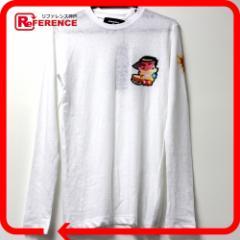 未使用 あす着 DSQUARED2 ディースクエアード 長袖 ロングTシャツ ホワイト レディース