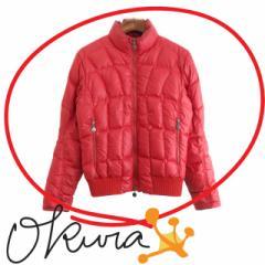 モンクレール ダウンジャケット メンズ 古着 レッド 赤 サイズ 1 ポリエステル 長袖 DIMITRI ディミトリ Moncler ダウン ジャケット メン