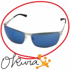 ポリス サングラス SPL203K メンズ 【中古】 ブルー シルバー 青色 POLICE ニッケル合金 プラスチック 眼鏡 メガネ アイウェア サングラ