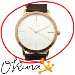 ポールスミス 腕時計 エムエー 新品 メンズ P10053 クォーツ SS 革ベルト Paul Smith 電池式 MA 送料無料 激安 質屋 腕時計 免税 TAXFREE